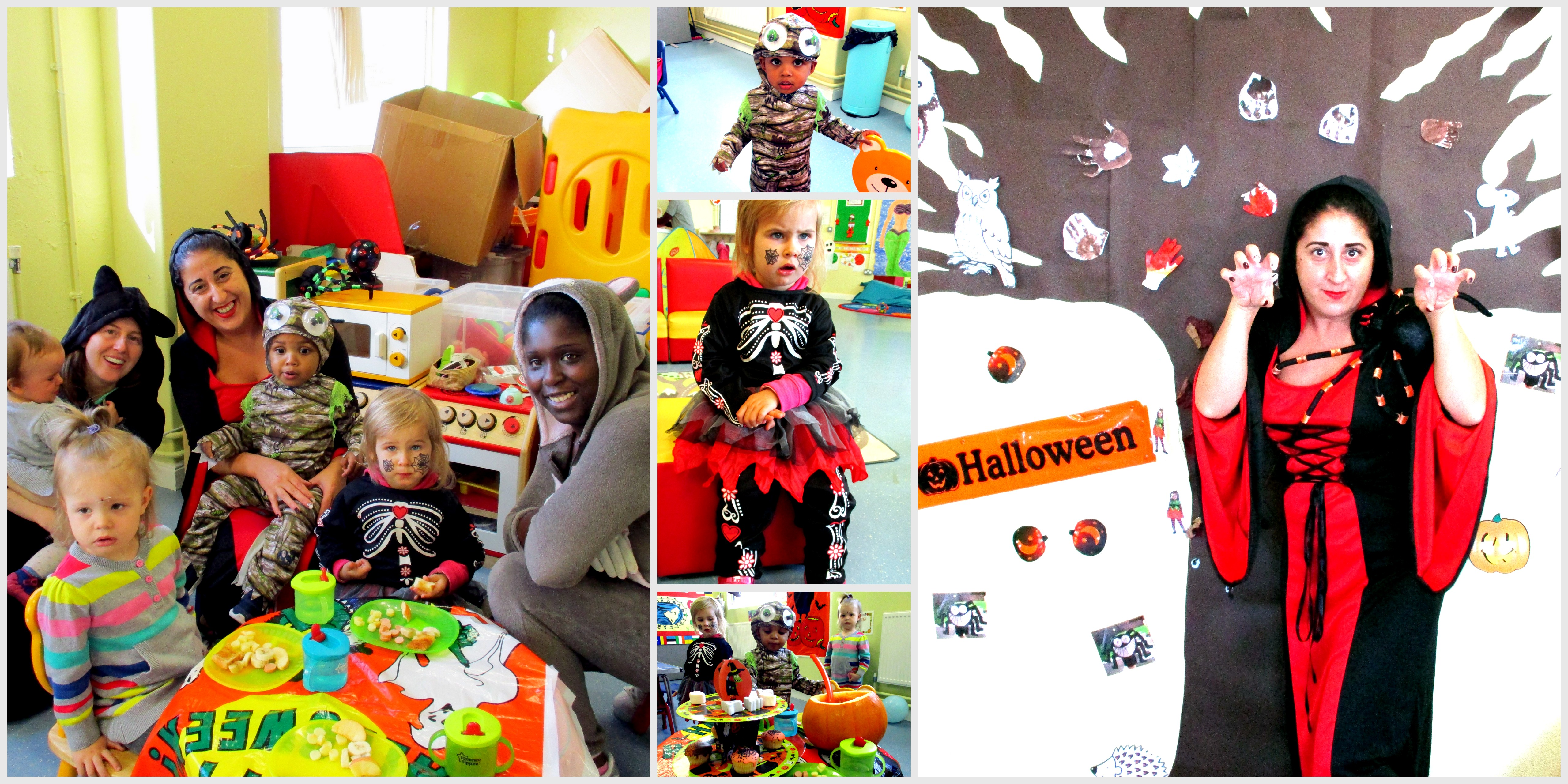 Hallowe'en Fun in the Creche