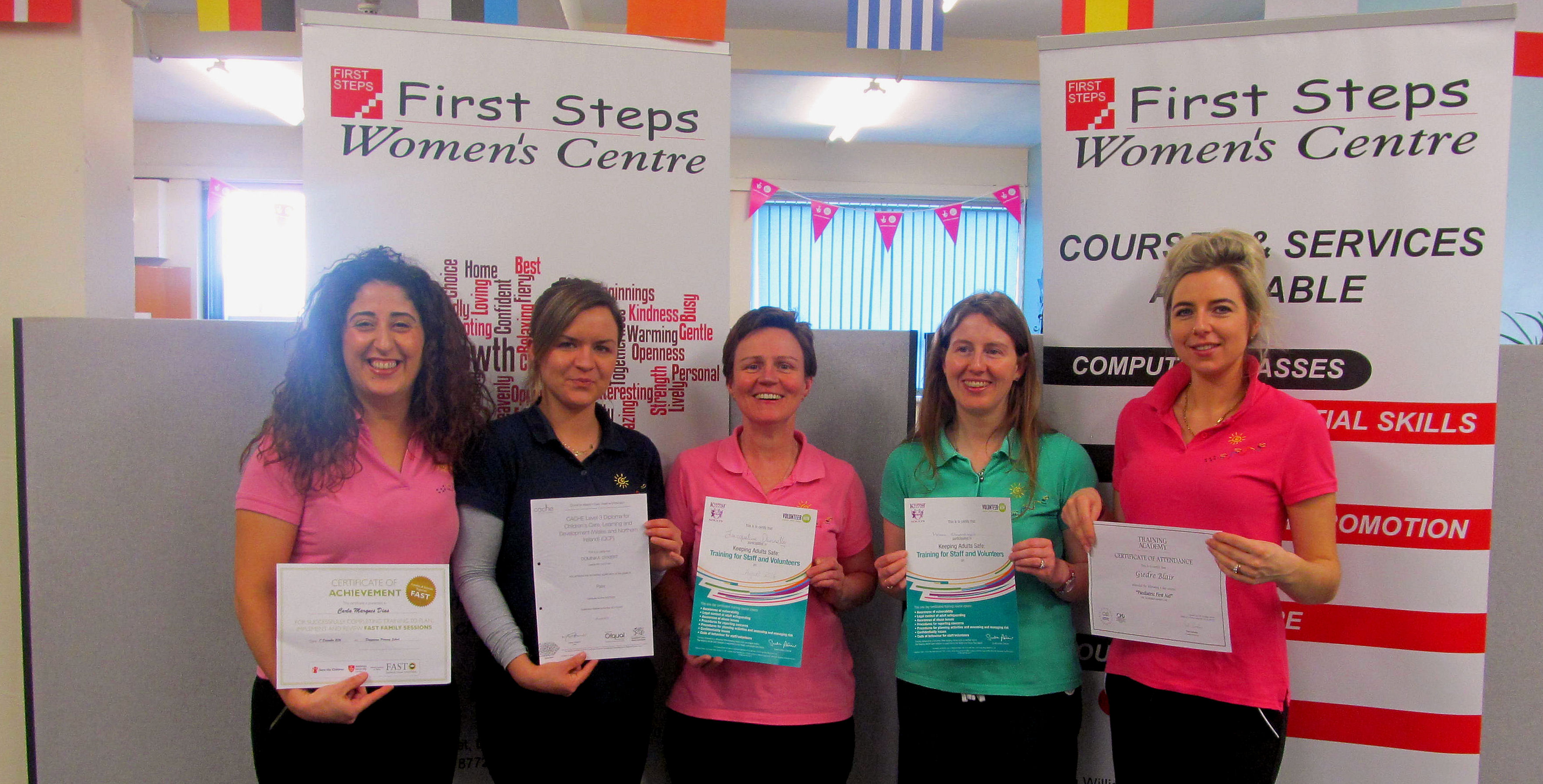 Childcare Staff Certificates